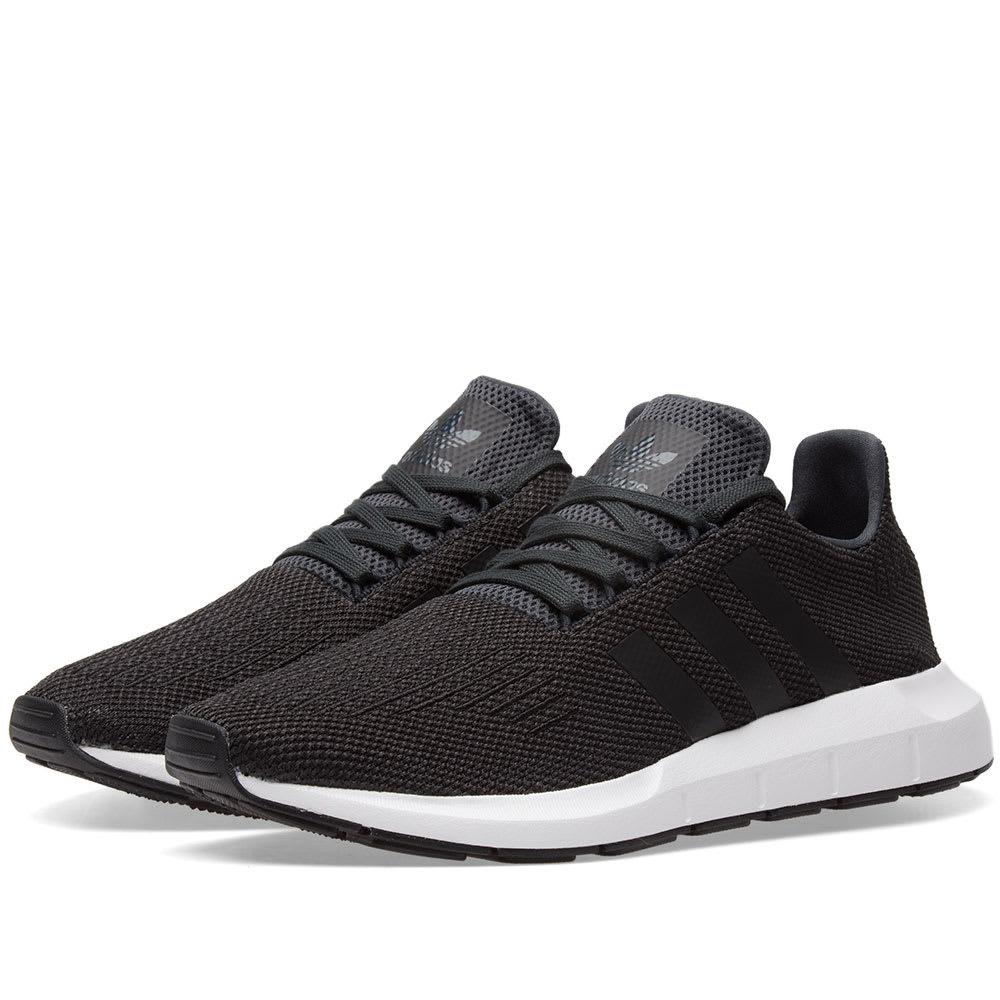 all black adidas swift run