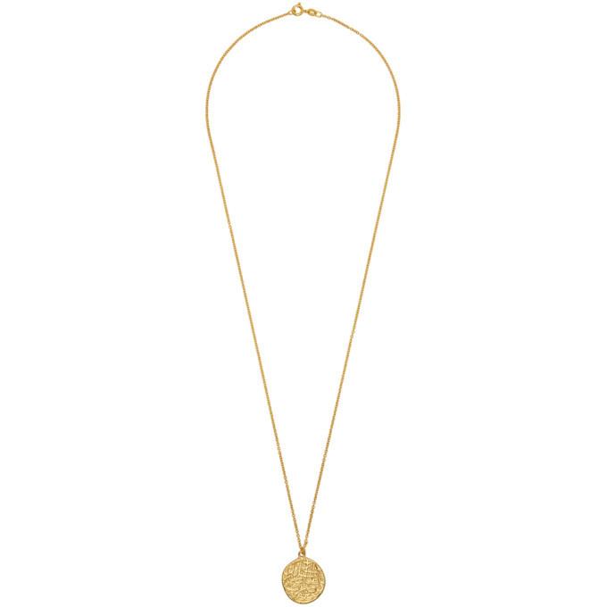 Photo: Dear Letterman Gold Dahmi Pendant Necklace