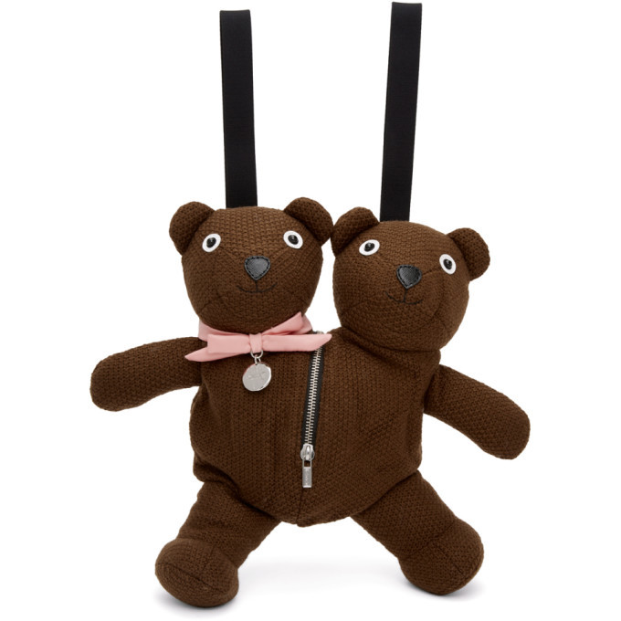 Photo: Marc Jacobs Brown Heaven by Marc Jacobs Double-Headed Teddy Backpack
