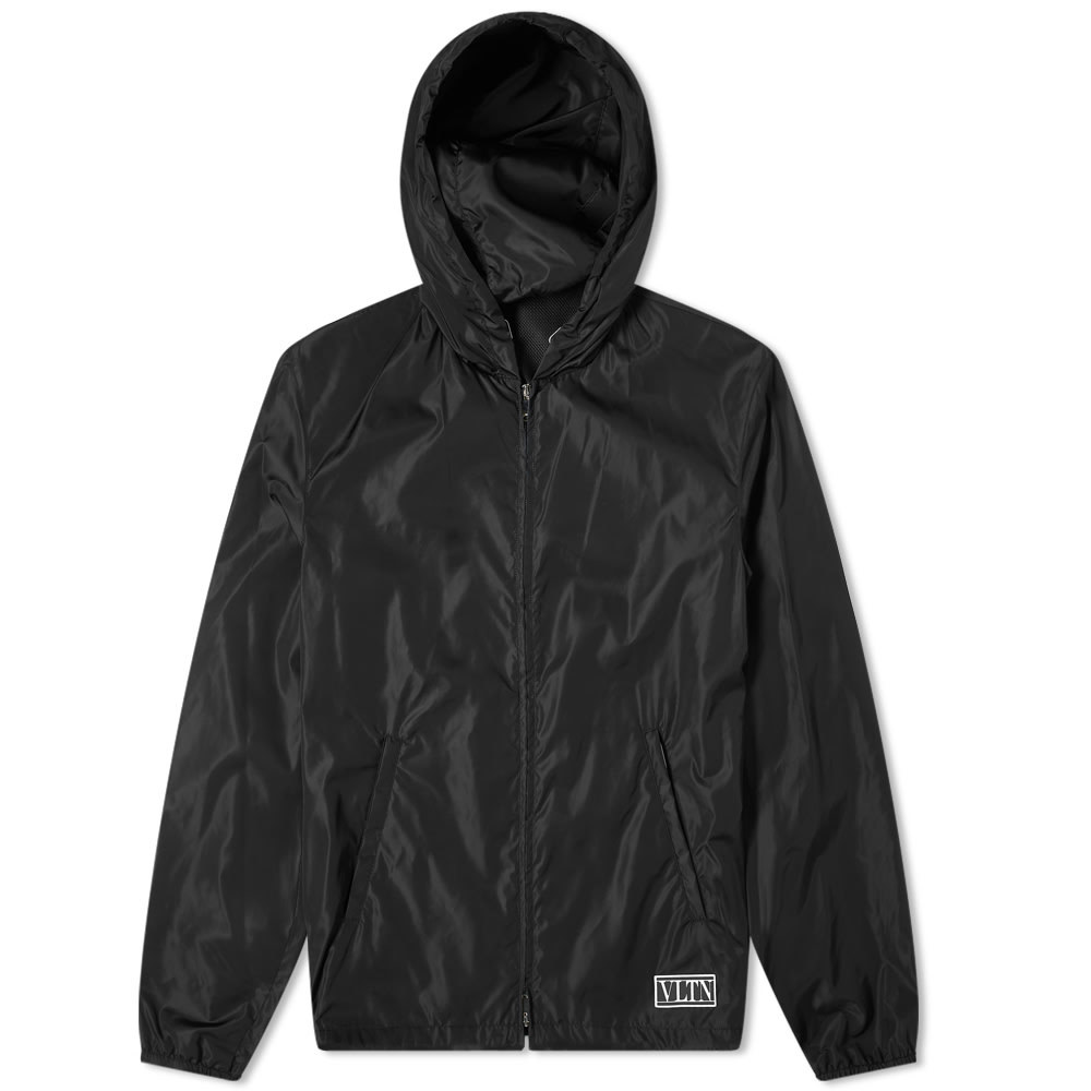 Photo: Valentino VLTN Rubber Logo Patch Windbreaker Jacket