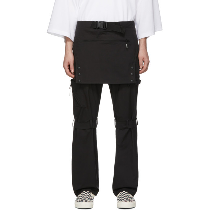 Photo: 99% IS Black Overall Trousers