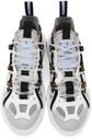 MCQ White & Grey Orbyt Descender Sneakers