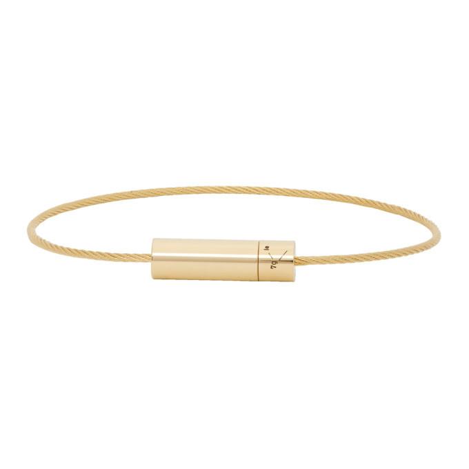 Photo: Le Gramme Gold Polished Le 7 Grammes Bracelet