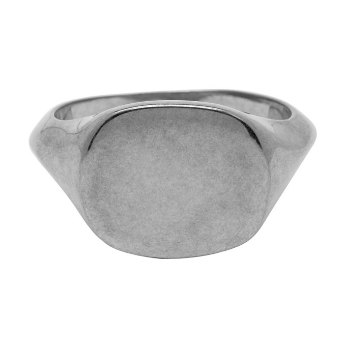 Photo: Jil Sander Silver Signet Ring