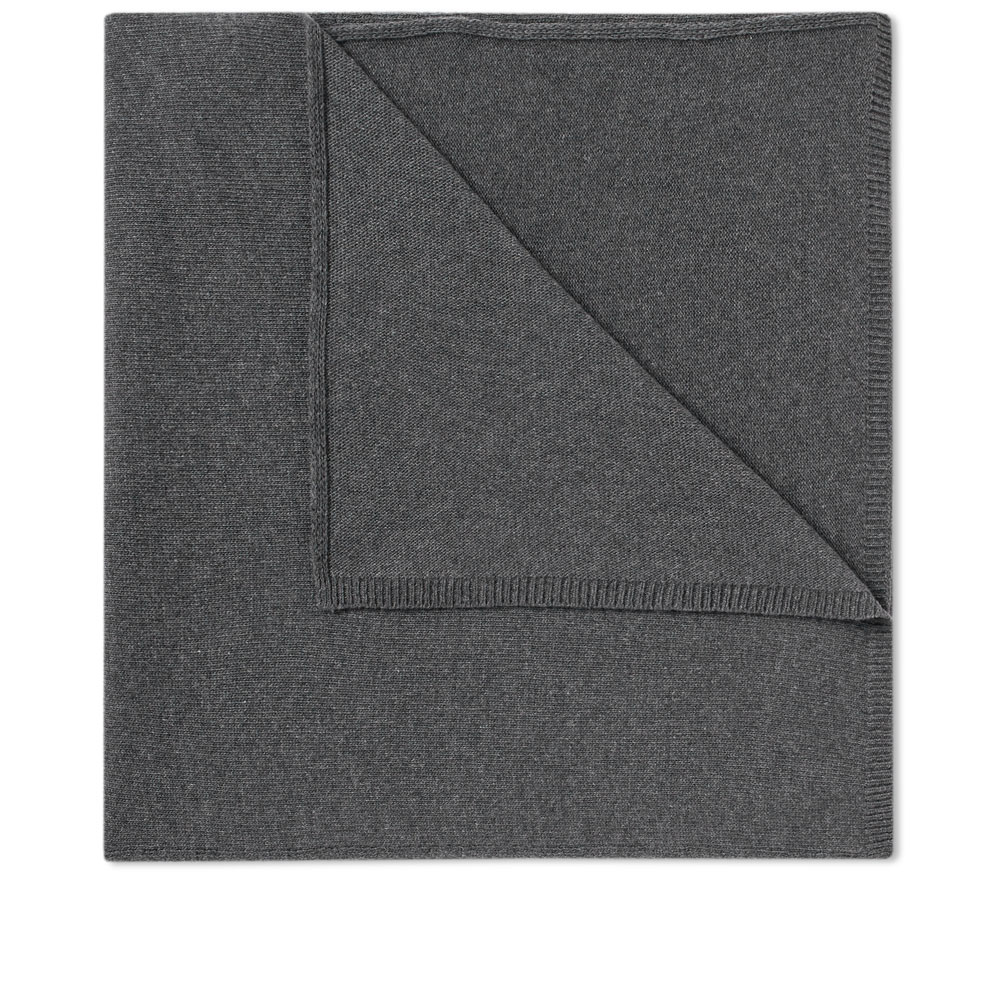 Photo: Officine Generale Cashmere Scarf Grey