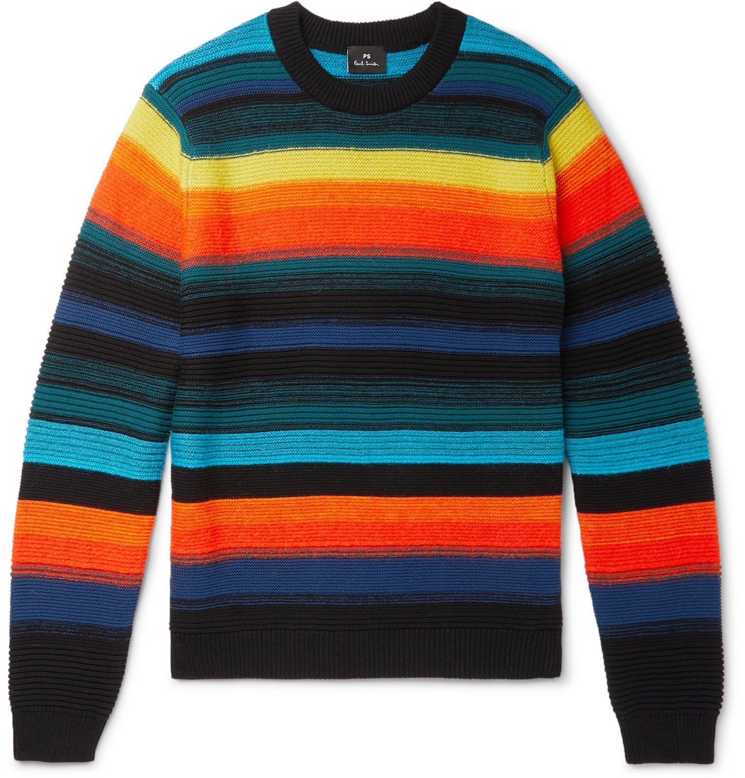 Photo: PS Paul Smith - Striped Knitted Sweater - Multi