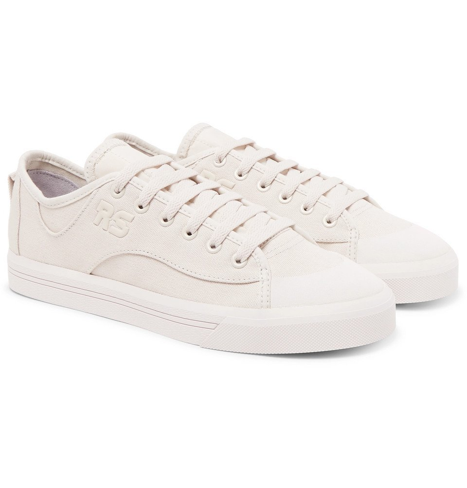 Raf Simons - adidas Spirit V Canvas Sneakers - Men - White