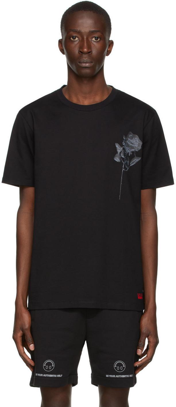 Photo: Hugo Black Rose T-Shirt