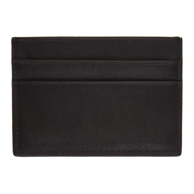 Versace Jeans Couture Black Logo Card Holder
