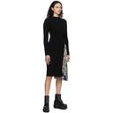 Sacai Black Wool Girard Dress