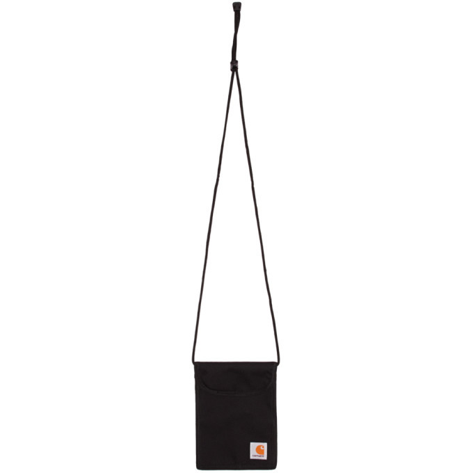 Photo: Carhartt Work In Progress Black Collins Neck Pouch
