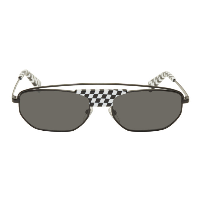 Photo: Alain Mikli Paris Black and White Plaisir Sunglasses
