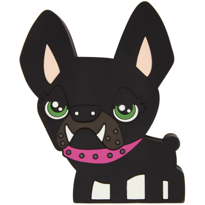 Photo: Dsquared2 Black D2 Doggy Speaker