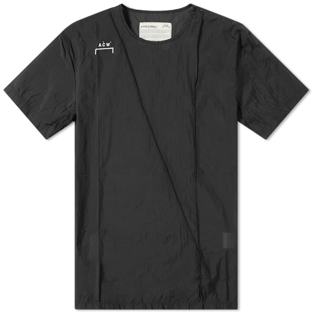 Photo: A-COLD-WALL* Short Sleeve Crinkle Nylon Shirt
