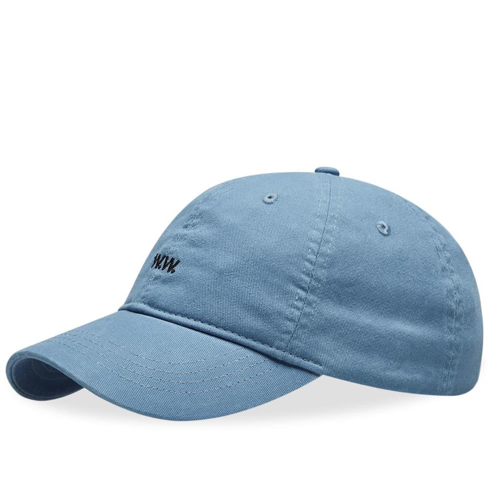 Photo: Wood Wood AA Low Profile Cap Dusty Blue