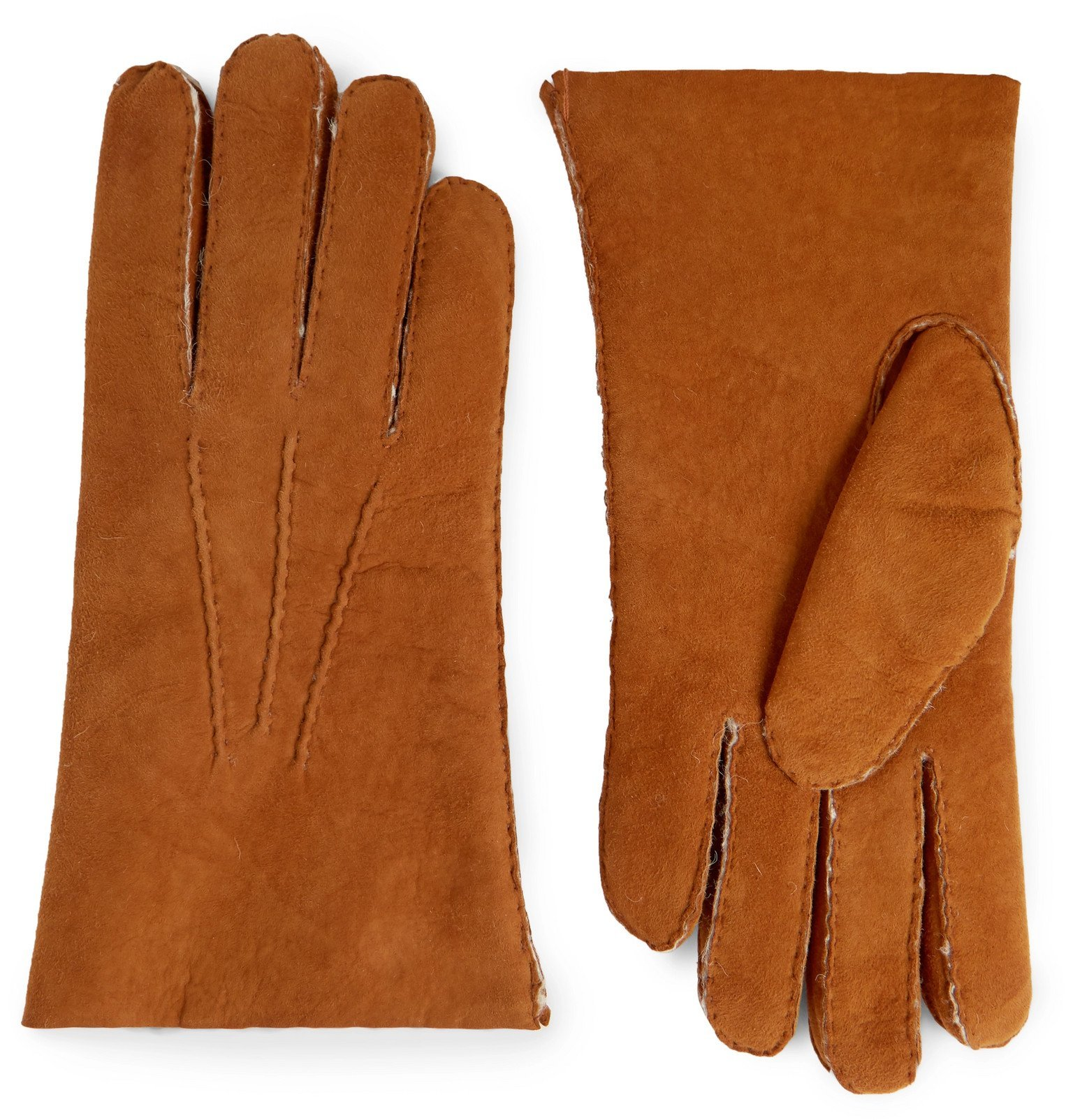 Photo: Hestra - Shearling Gloves - Brown