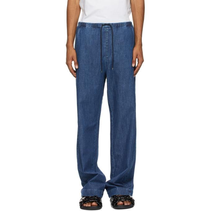 Photo: Valentino Blue Denim Chambray Jeans