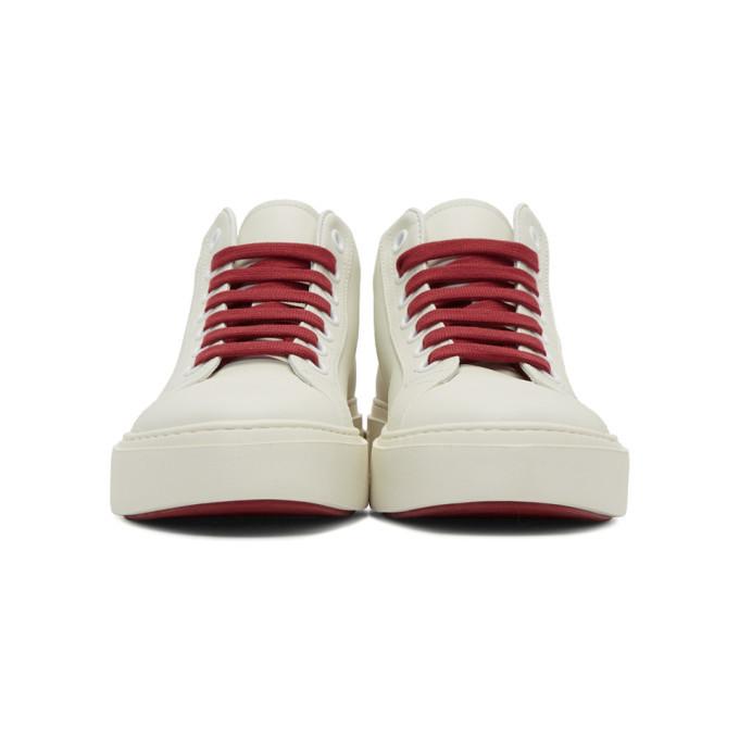 Salvatore Ferragamo White Tour Sneakers