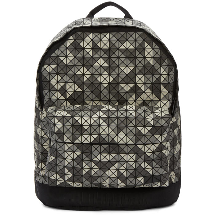 2d26fa8584 excellent photo bao bao issey miyake grey daypack backpack with bao beige.
