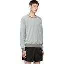 3.1 Phillip Lim Grey Classic Velour Sweatshirt