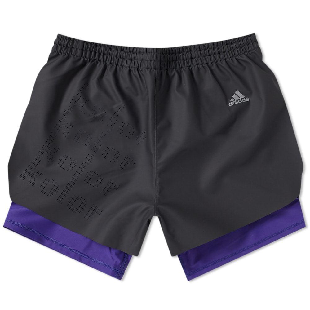 Adidas x Kolor Coated Short Black
