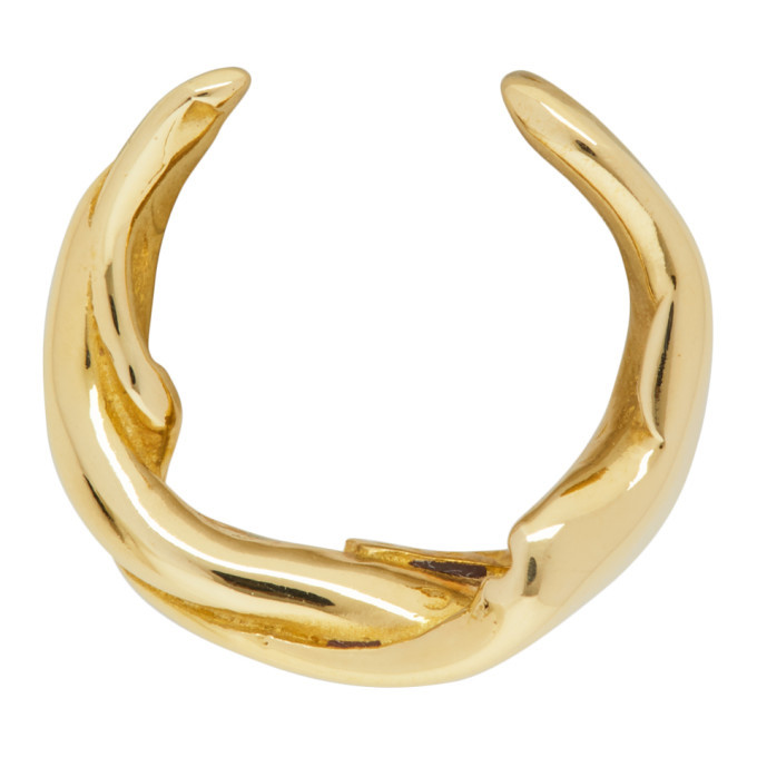 Photo: Faris Gold Twist Single Ear Cuff