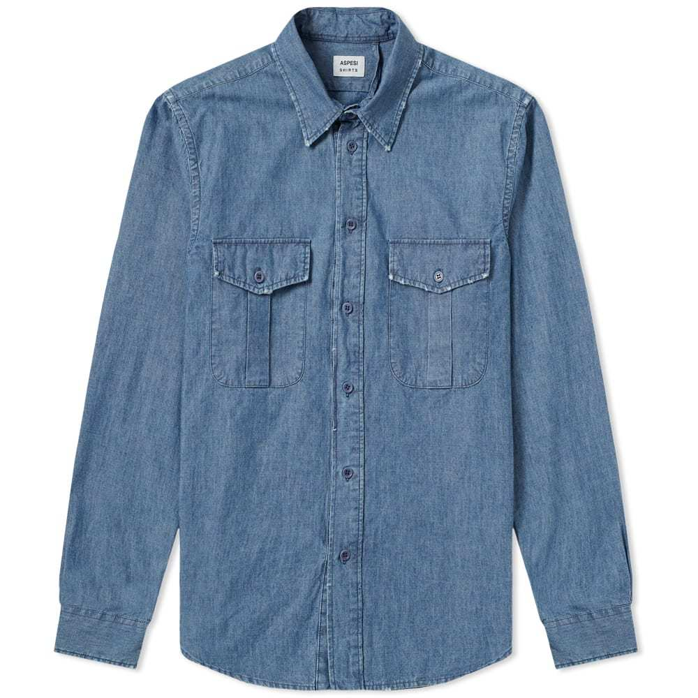 Photo: Aspesi Two Pocket Chambray