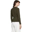 3.1 Phillip Lim Khaki Rib Knit Sweater