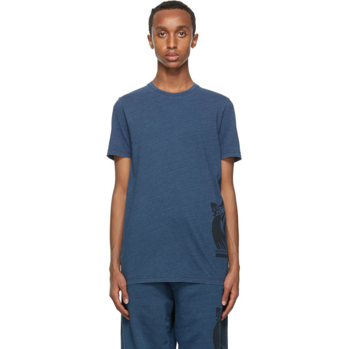 Photo: Lanvin Navy Mother and Child T-Shirt