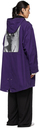 Raf Simons Purple Medium Length Parka Coat