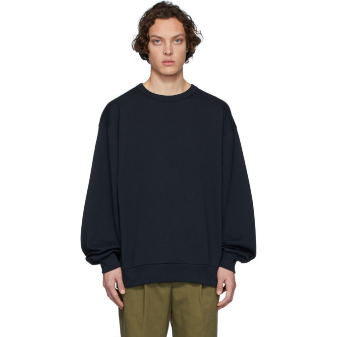 Photo: Dries Van Noten Navy Hoxto Sweatshirt