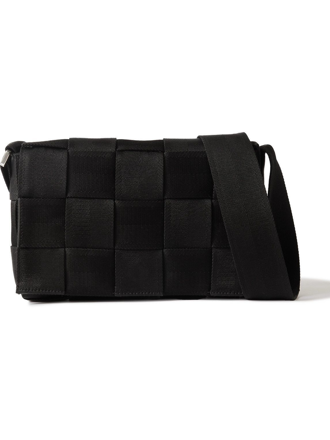 Photo: Bottega Veneta - Intrecciato Webbing Messenger Bag