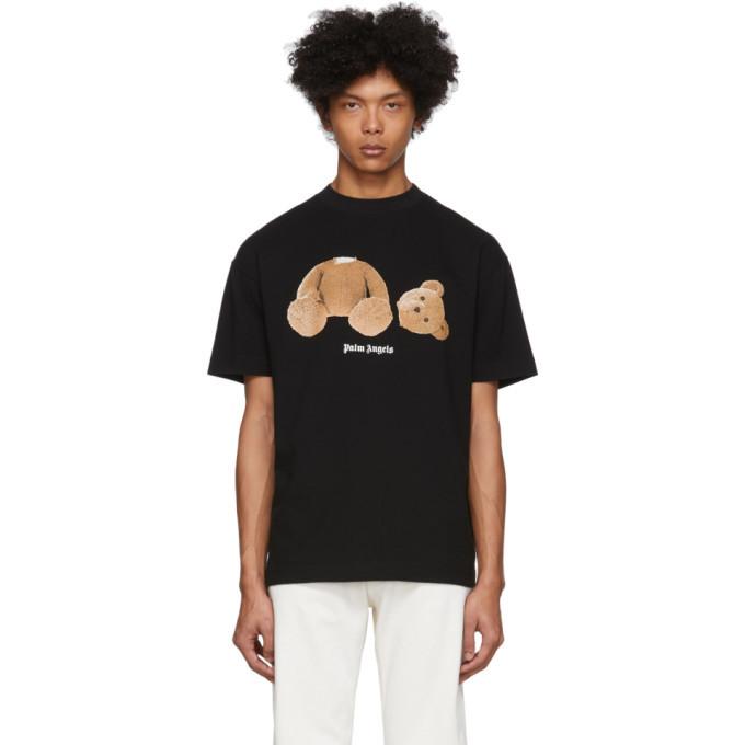 Photo: Palm Angels Black Kill The Bear T-Shirt