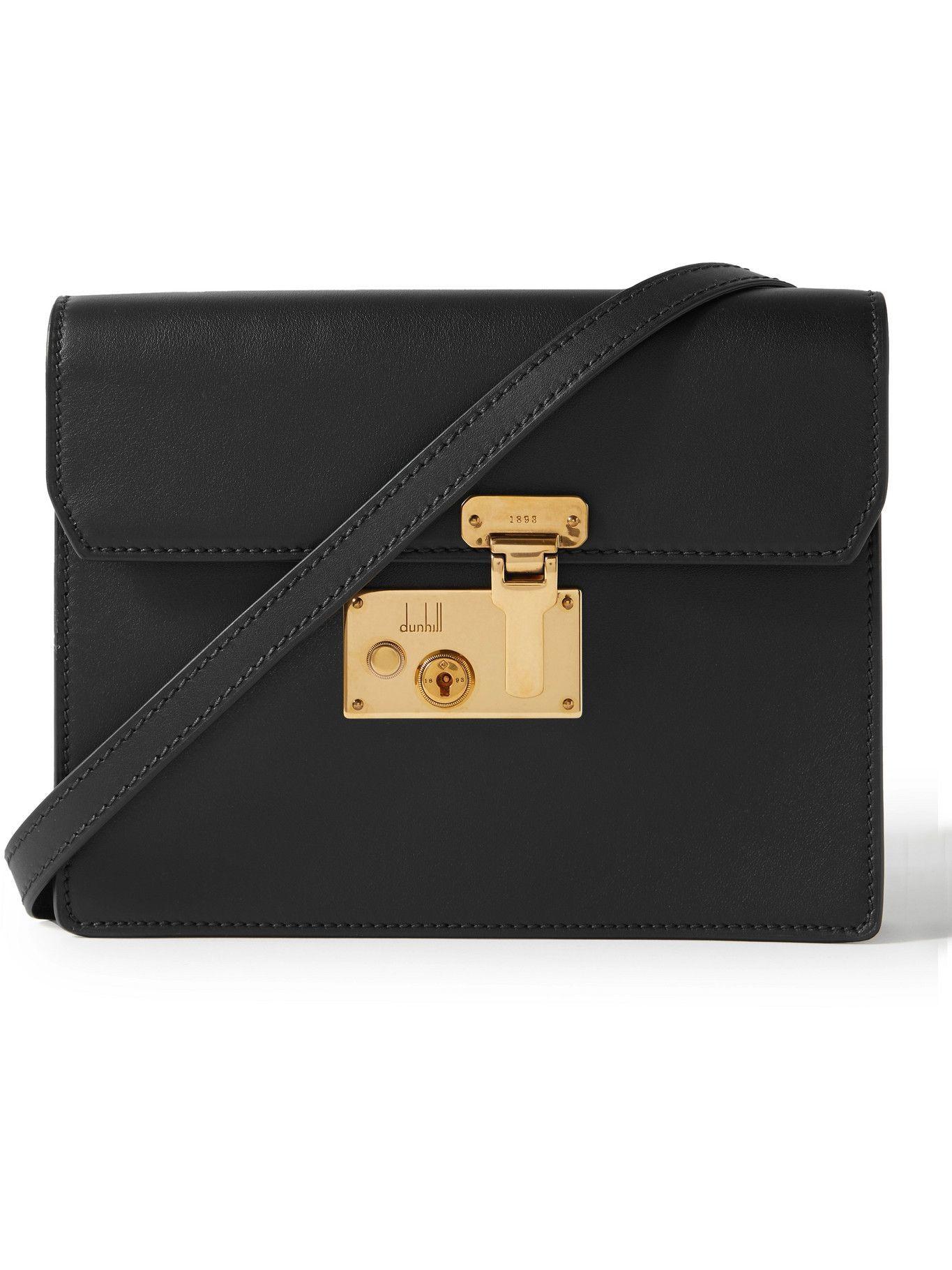 Dunhill - Lock Leather Messenger Bag