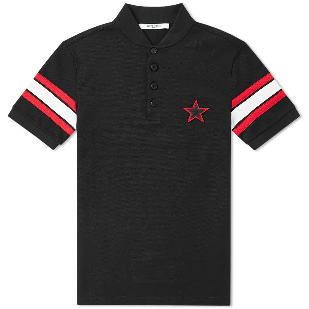 Photo: Givenchy Cuban Box Logo Polo