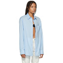 Raf Simons Blue Open Side Shirt