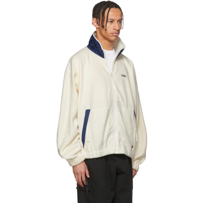 032c White WWB Fleece Jacket