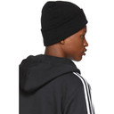 adidas Originals Black Adicolor Cuff Knit Beanie