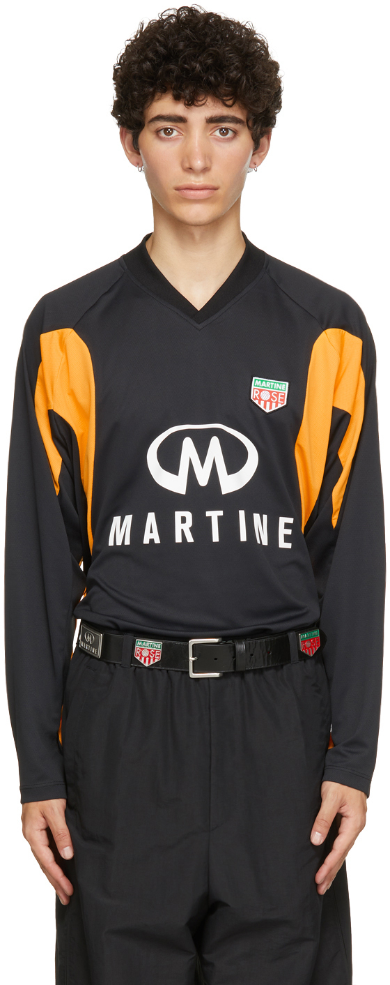 Photo: Martine Rose Black Revels Long Sleeve T-Shirt