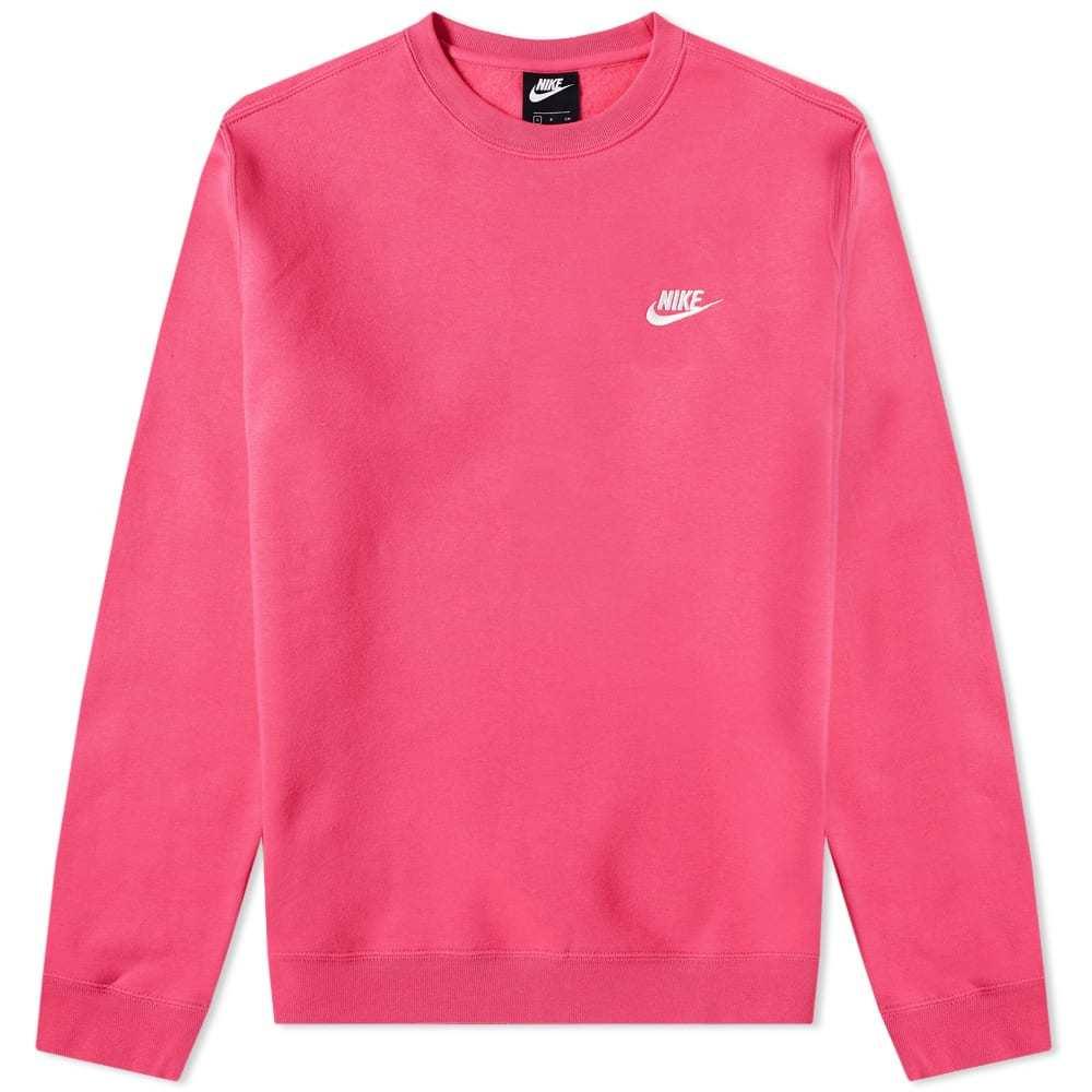 Photo: Nike Club Crew Sweat Pink