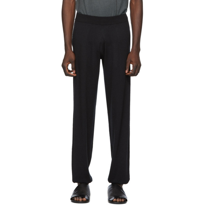 Photo: Frenckenberger Black Cashmere Lounge Pants