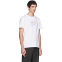 Raf Simons White Fall 18 Slim Fit T-Shirt