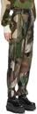Sacai Green KAWS Edition Camo Trousers