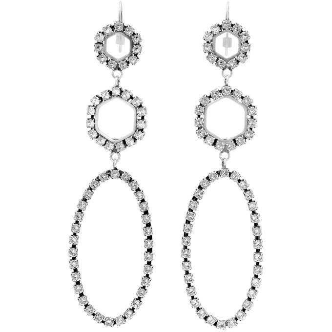 Photo: Isabel Marant Silver Here It Is Earrings