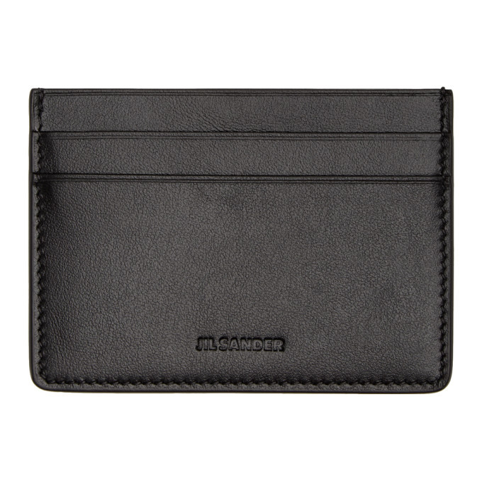 Photo: Jil Sander Black Credit Card Holder