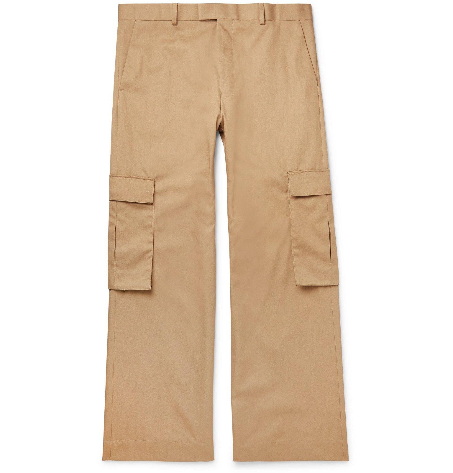 Martine Rose - Twill Cargo Trousers - Neutrals