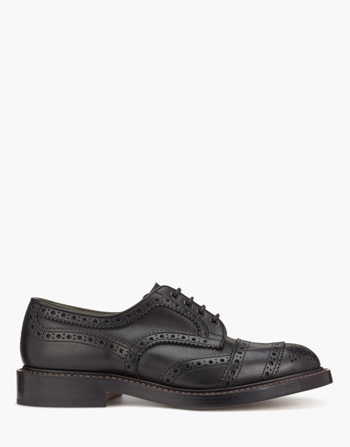 Photo: Belstaff Trickers Phoenix Short Shoes Black
