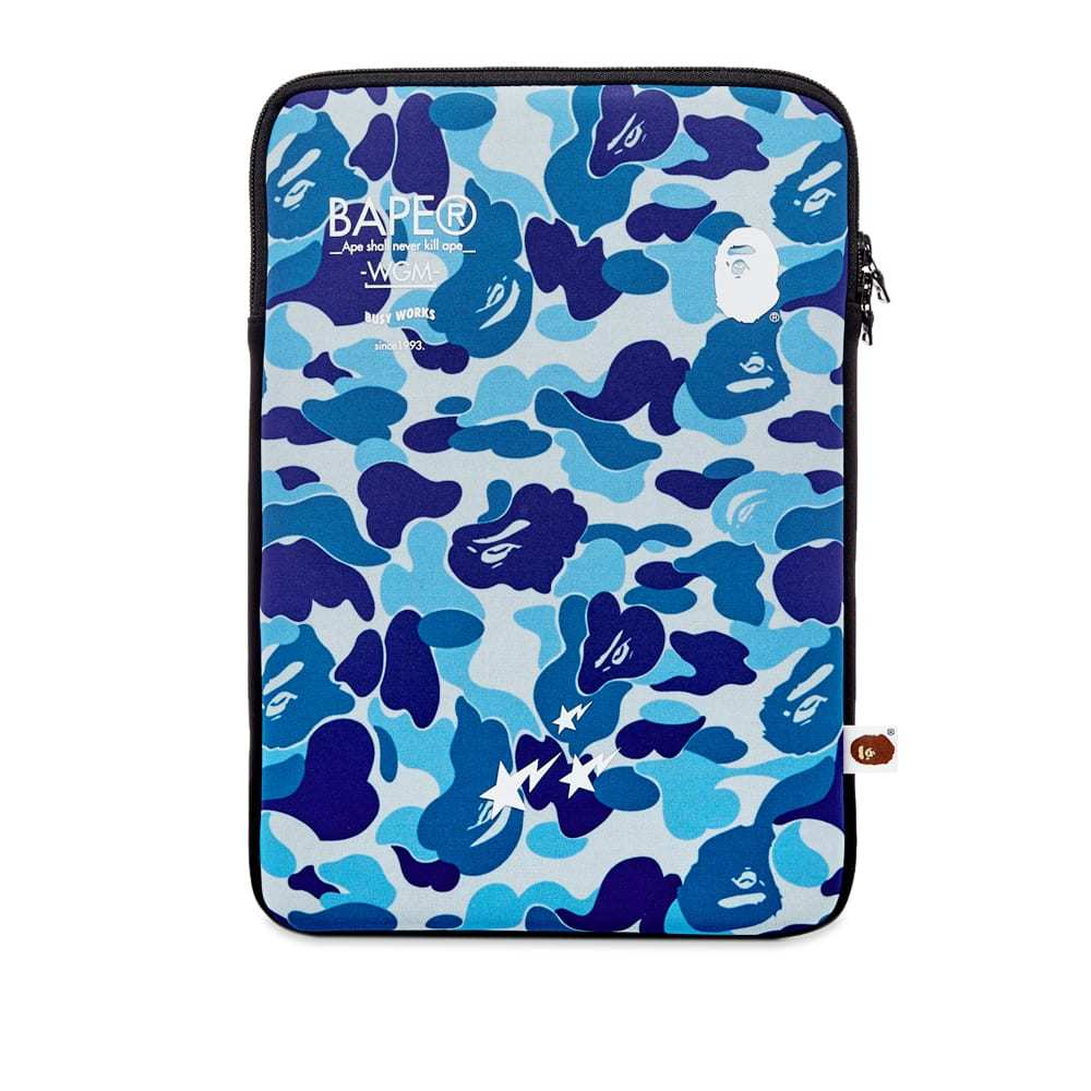 Photo: A Bathing Ape ABC Laptop Case