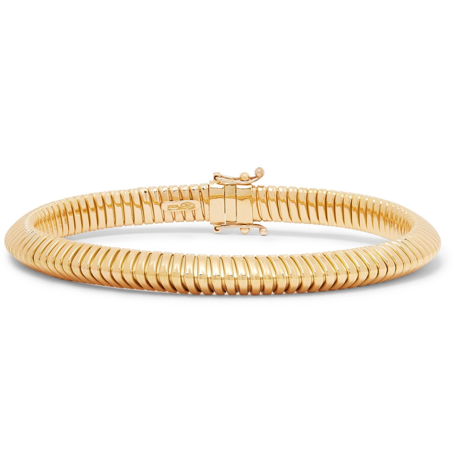 Photo: Luis Morais - Turbo Gas 18-Karat Gold Bracelet - Gold
