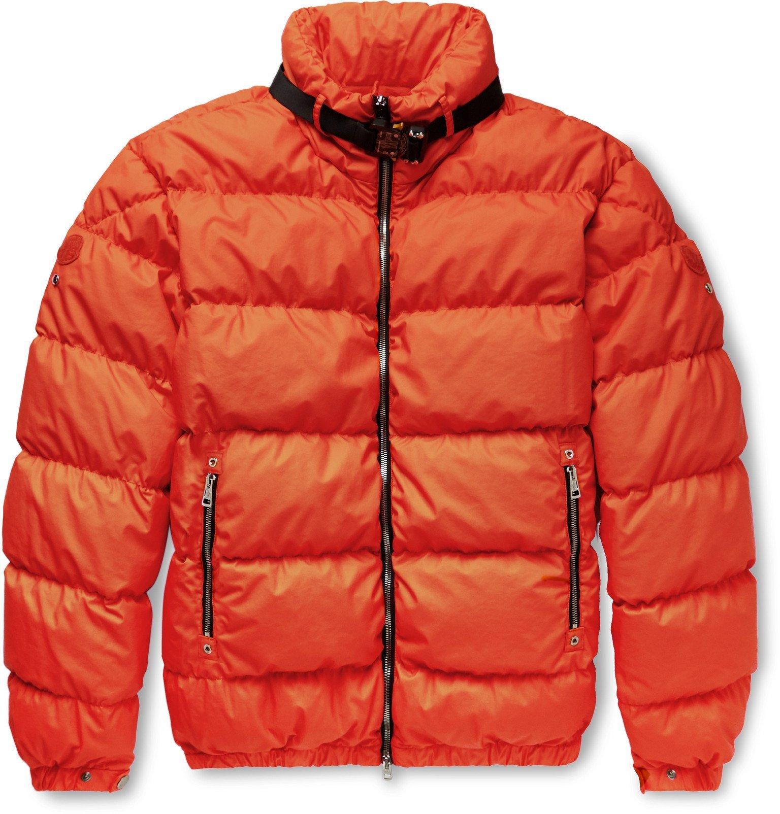 Photo: Moncler Genius - 6 Moncler 1017 ALYX 9SM Quilted Coated-Cotton Down Jacket - Orange